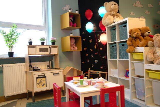 Nowa izba przyjęć oddziału pediatrycznego w Szpitalu św. Anny w Piasecznie