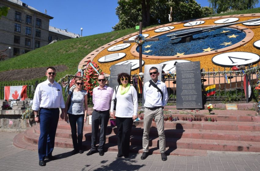 Z wizytą na Ukrainie