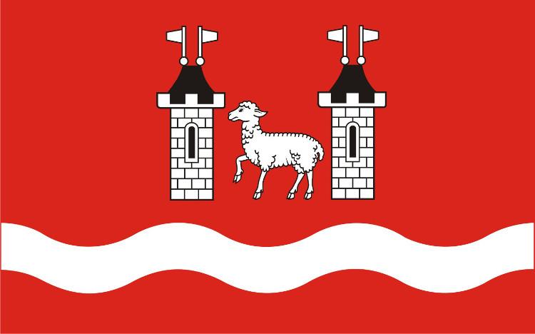 Flaga Powiatu Piaseczyńskiego