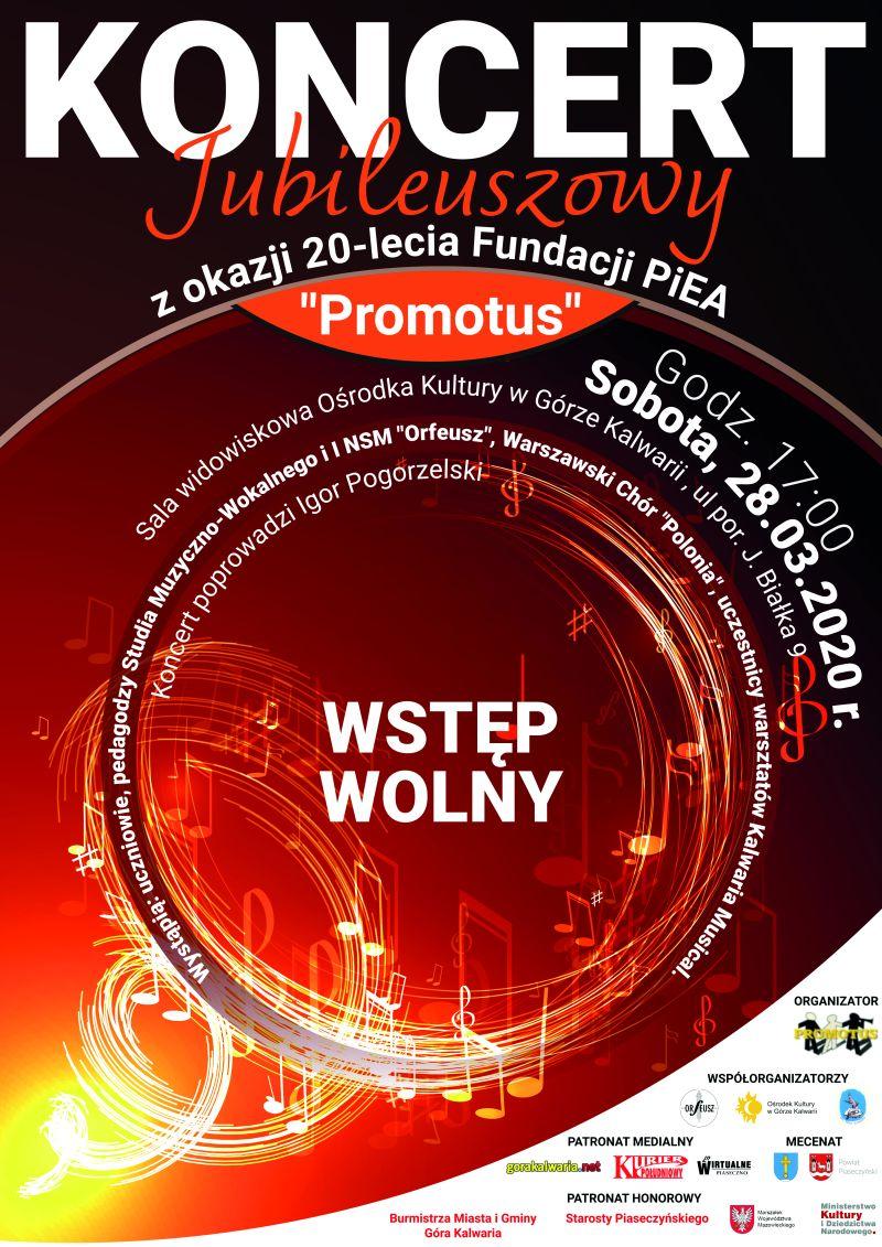 "Jubileusz Fundacji PiEA ""Promotus"""