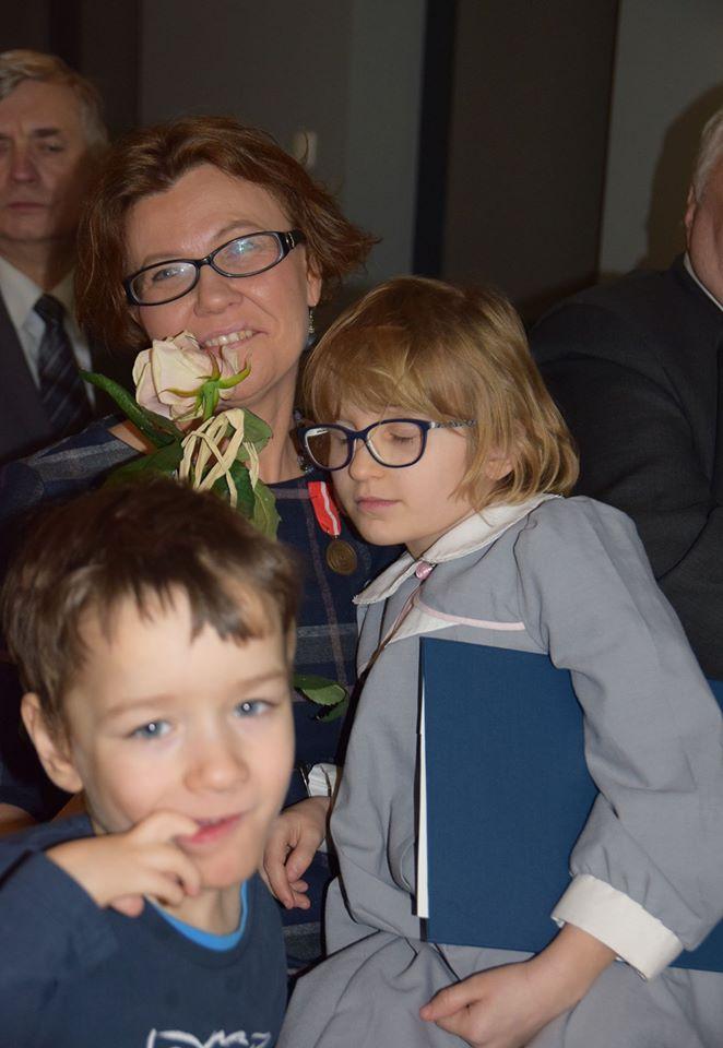 Dorota Cichocka-Zawada z córką