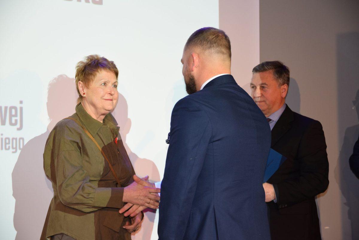 Starosta gratuluje Marii Mioduszewskiej