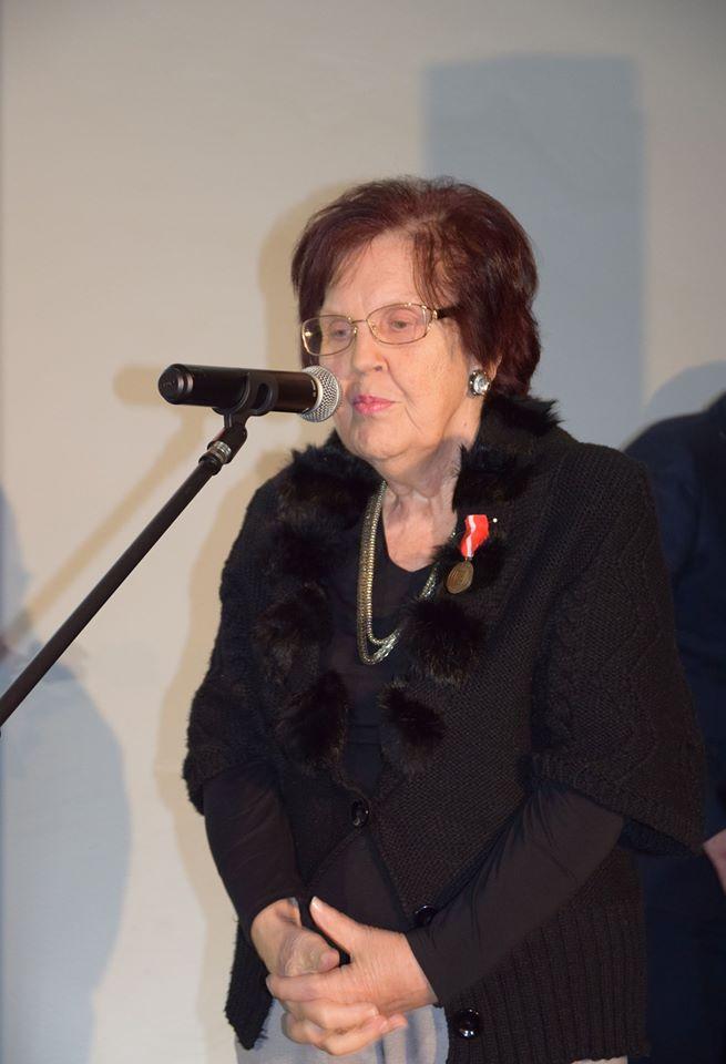 dr Czesława Gasik Prezes Towarzystwa
