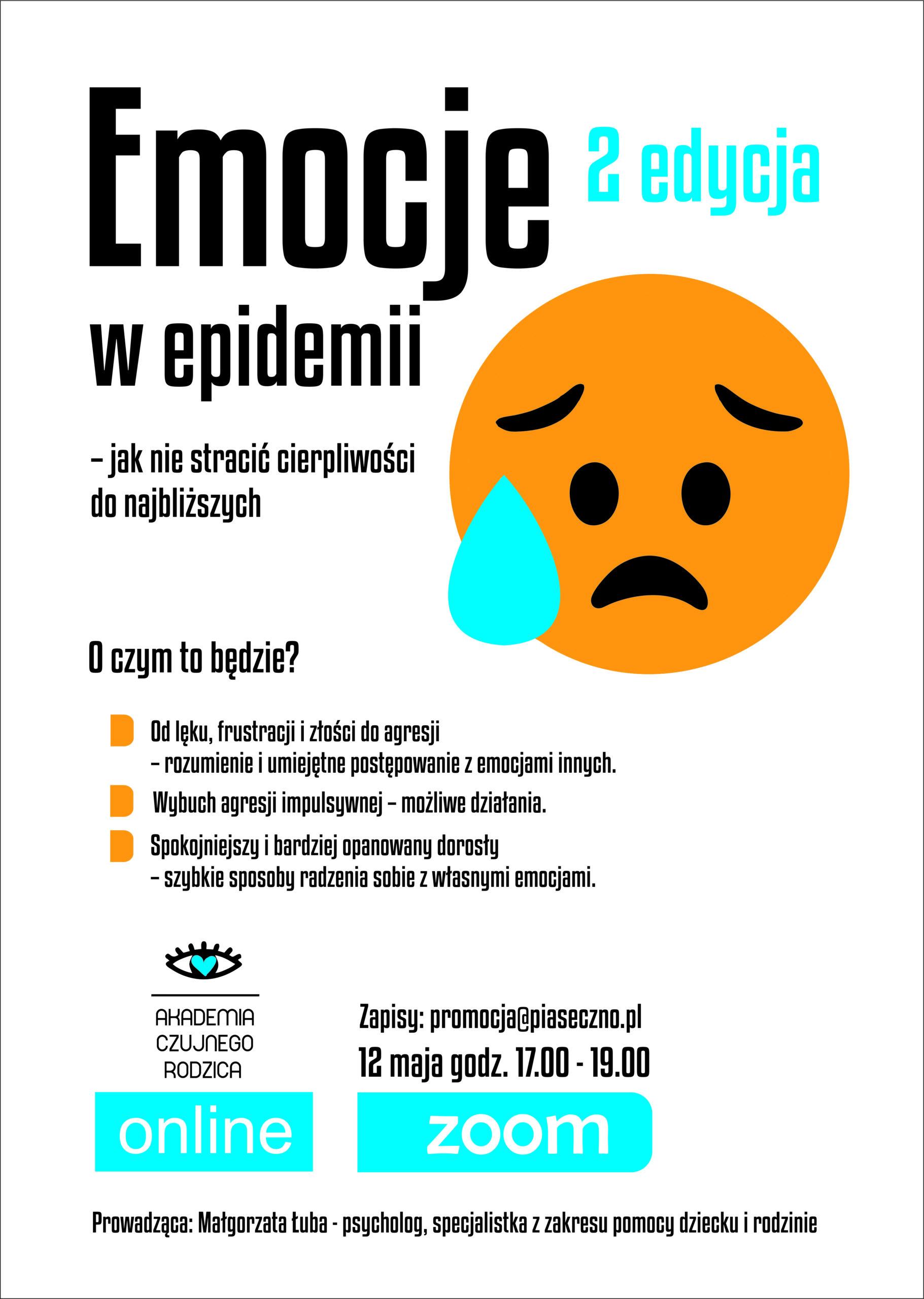 emocje w epidemii plakat 2 edycja