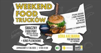 Weekend Food Trucków w Górze Kalwarii - plakat
