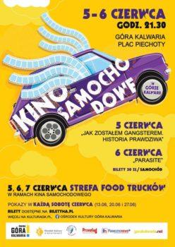 Plakat Kino Samochodowe w Górze Kalwarii