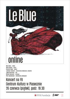 Plakat koncert zespołu LeBlue