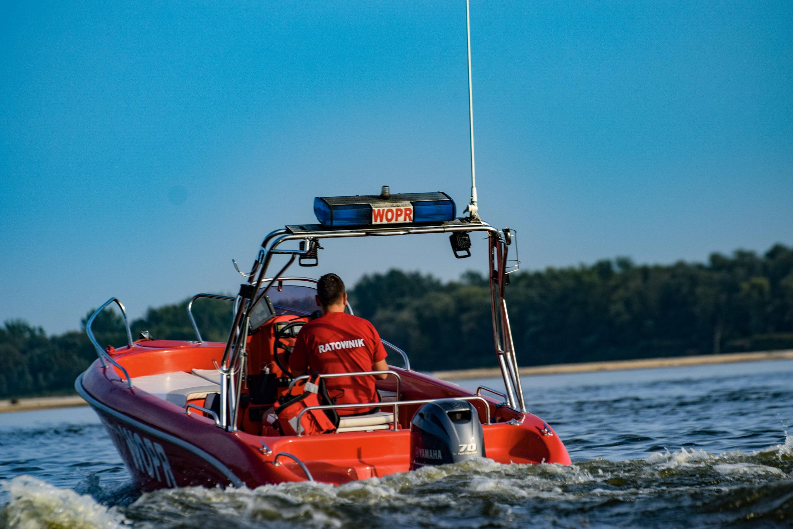 WOPR patroluje rejon Wisły i Jeziorki od początku sezonu