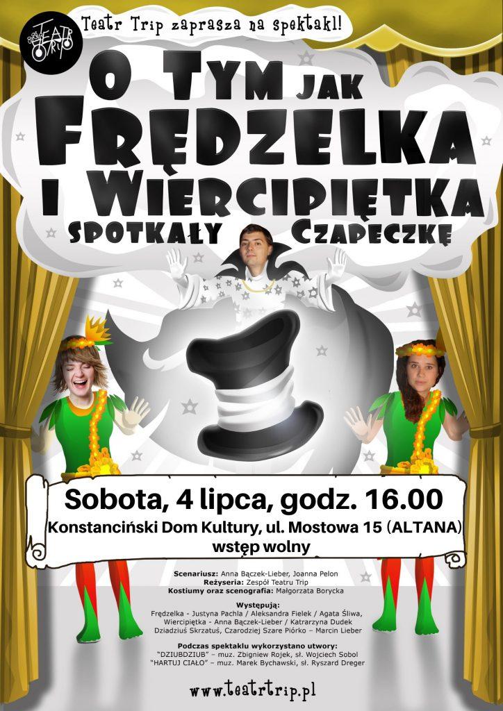 Frędzelka i wiercipiętka - przedstawienie dla dzieci