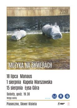 Skwer Muzyczny plakat