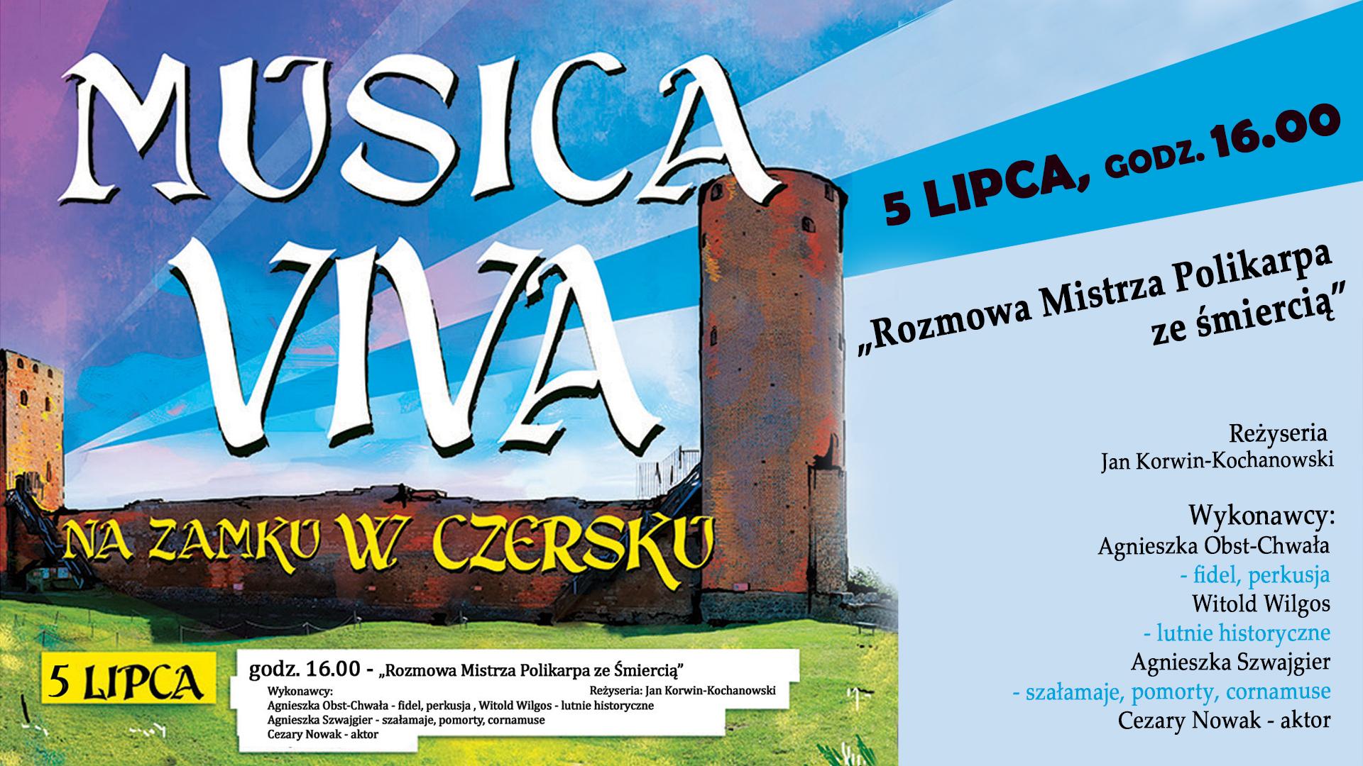 Musica Viva - cykl koncertów na zamku w Czersku
