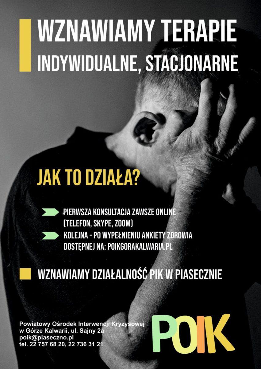 plakat POIK wznawia działalność