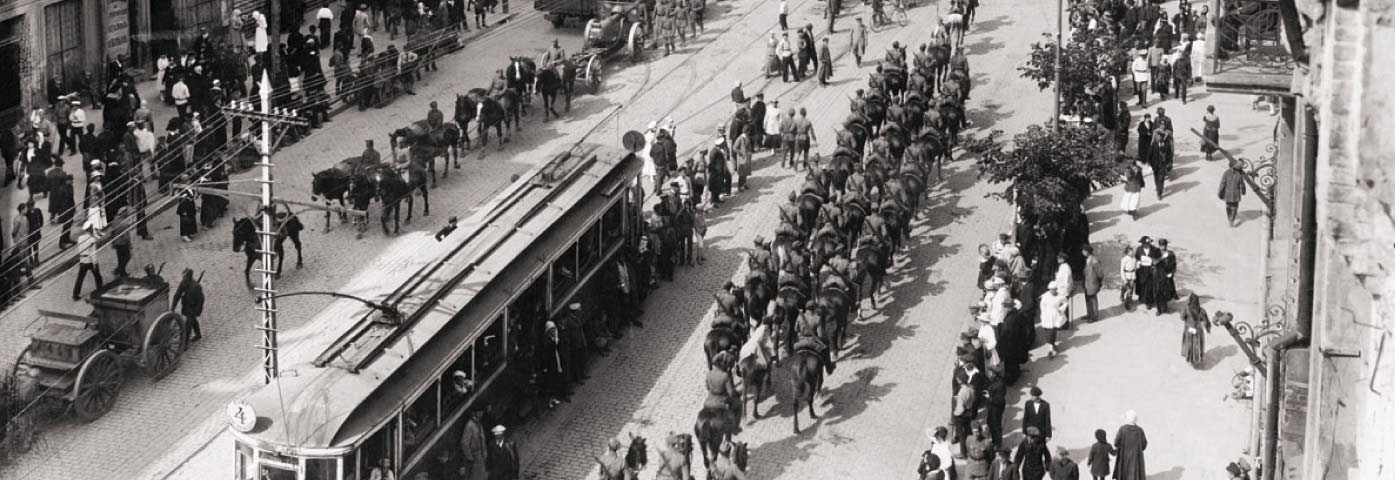 ttramwaj, wojsko-bitwa warszawska