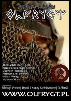 Plakat turniej wojów